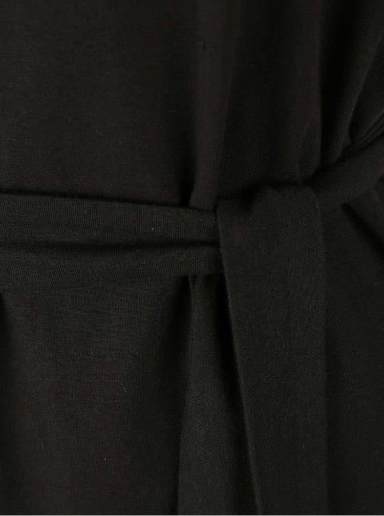 Tmavě šedé oversized šaty Skunkfunk Arabis