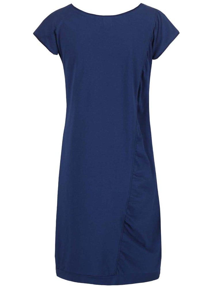 Tmavomodré šaty Skunkfunk Axpe