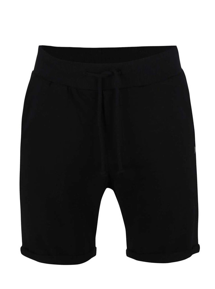 Pantaloni sport scurti Jack & Jones Boost negri