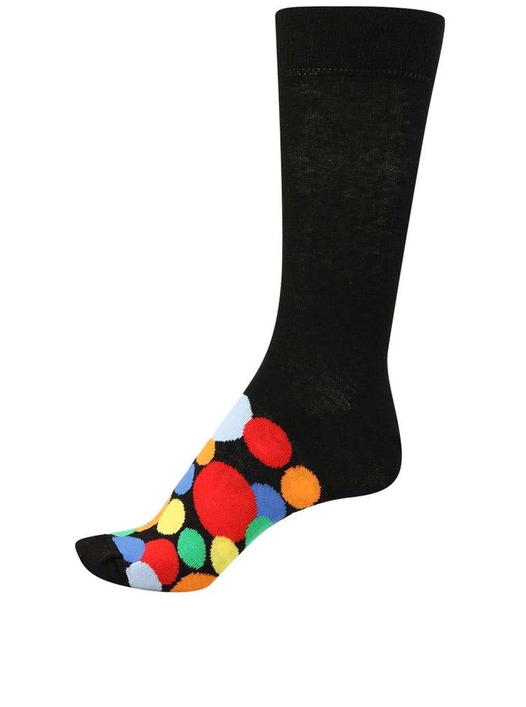Sada šiestich pánskych ponožiek v čiernej farbe Oddsocks Soso