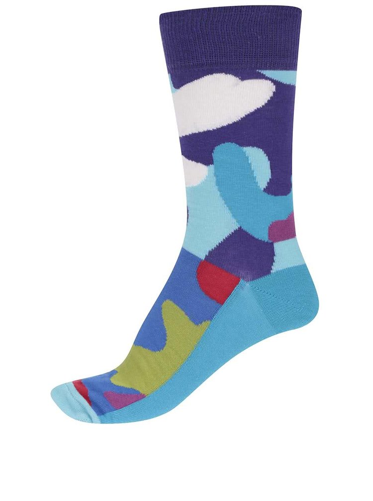 Sada šesti pánských maskáčových ponožek Oddsocks Camo