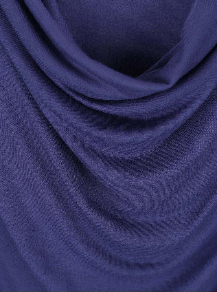 Tmavě modrý dámský top s prověšeným výstřihem Bench Duple
