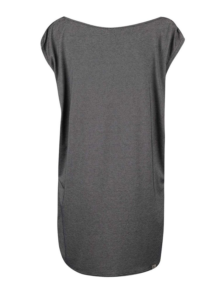 Tmavě šedé volné šaty Bench Truism