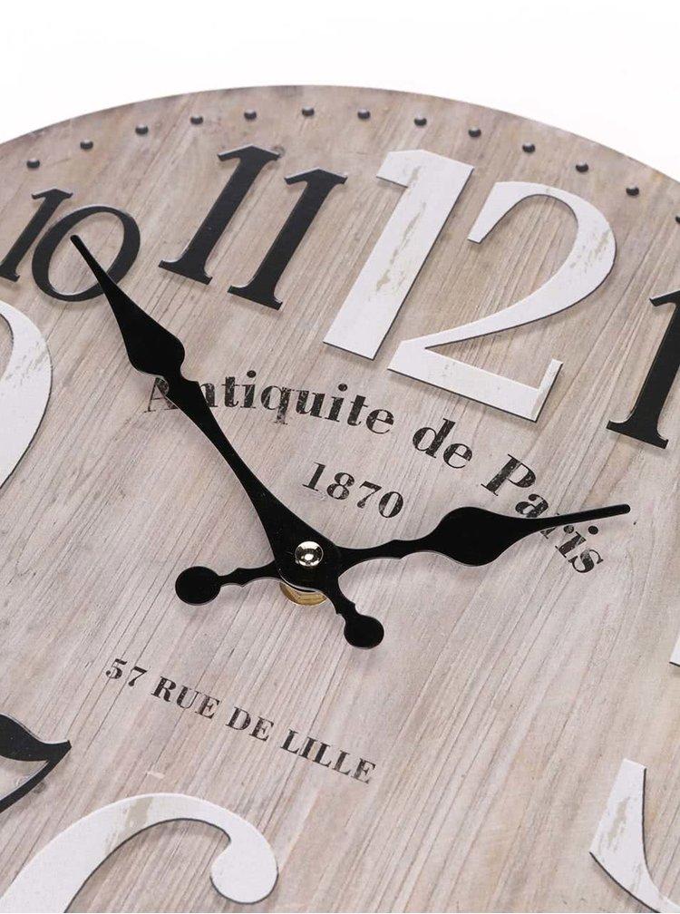 Dřevěné hodiny Dakls Antiquite de Paris