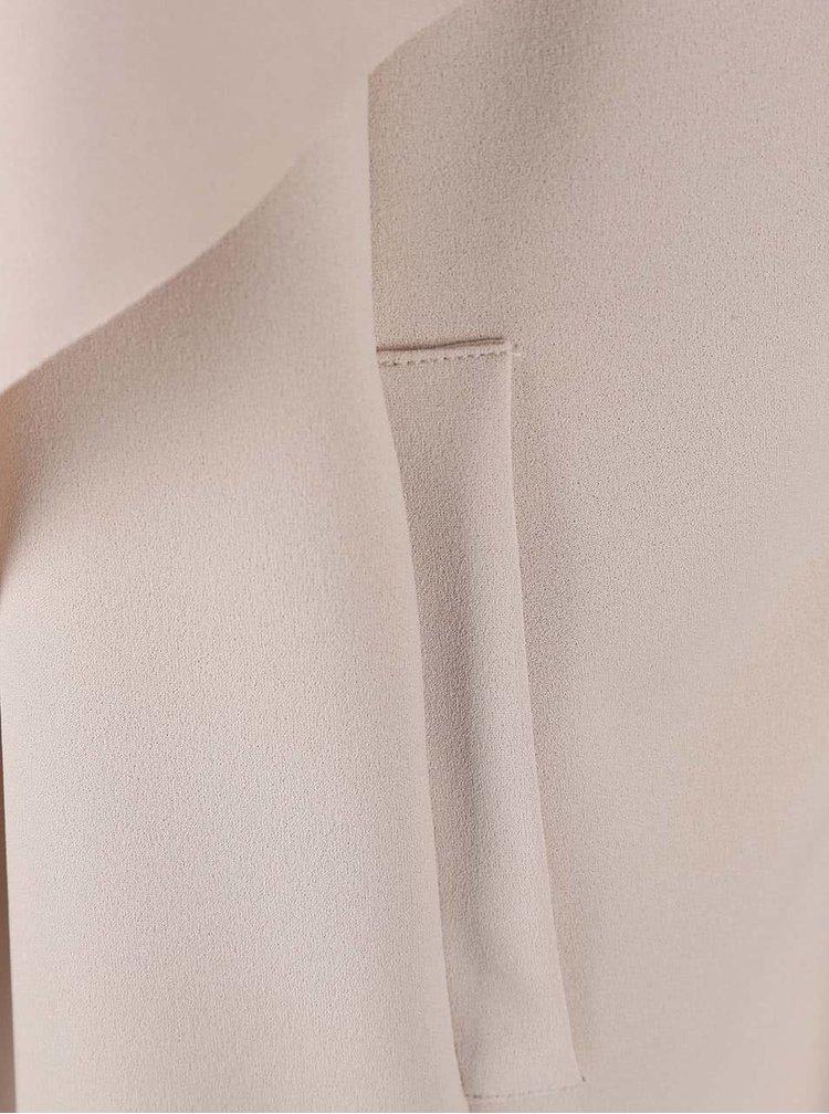 Béžový lehký kabát Alchymi Cordierite