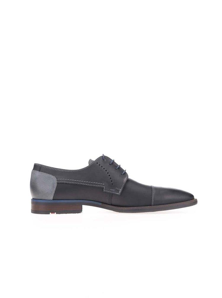 Pantofi oxford Lloyd Gilroy pentru bărbați din piele navy