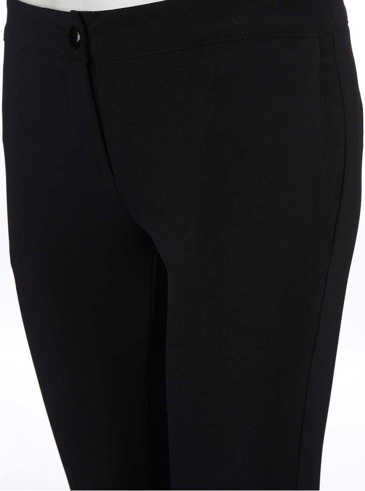 Černé užší kalhoty Alchymi Vega