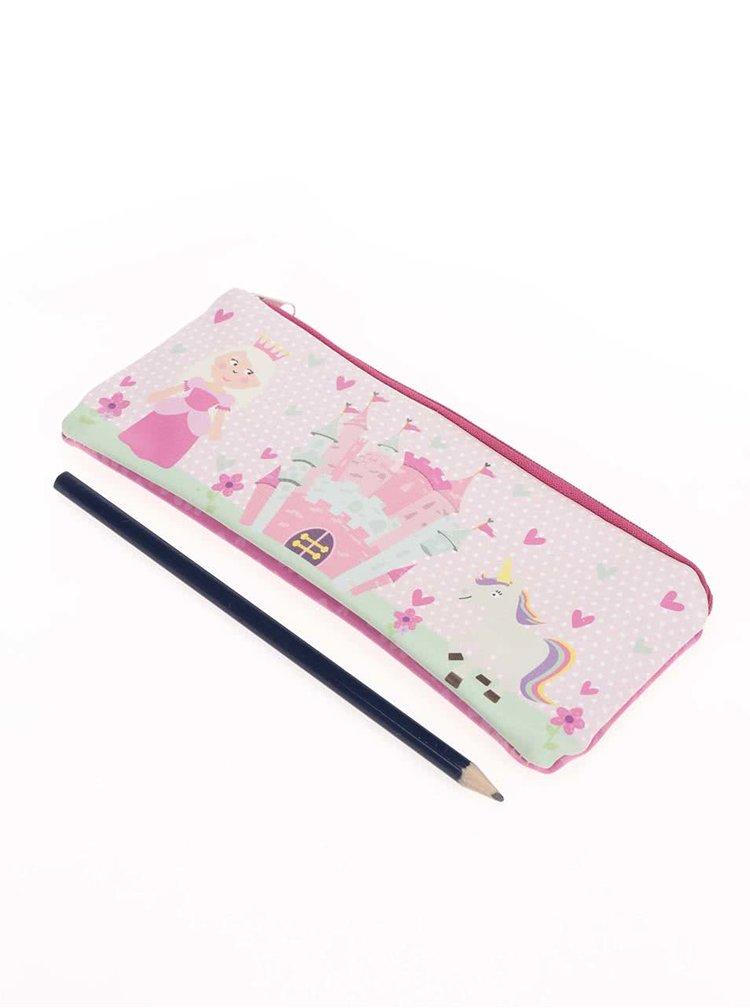 Suport de creioane CGB roz