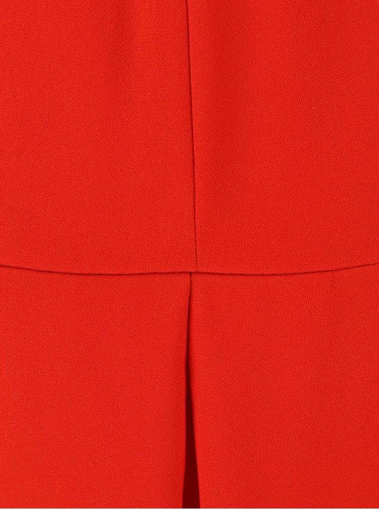 Červené volné šaty Alchymi Media