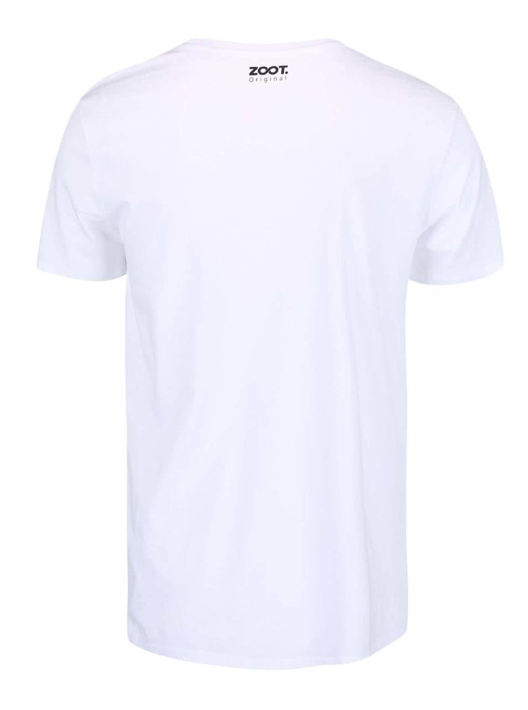 Tricou ZOOT Original Instant Noodle alb pentru barbati
