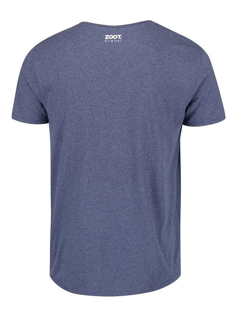 Tmavě modré pánské triko ZOOT Originál Zpívám si