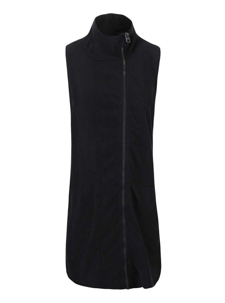 Čierne šaty na zips Bench Easy