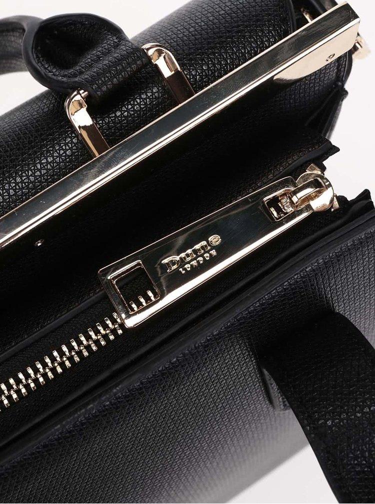 Černá kabelka do ruky Dune London Delaney
