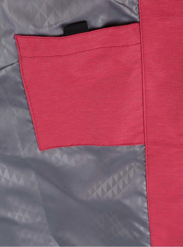 Růžová dámská nepromokavá bunda Funstorm Turia
