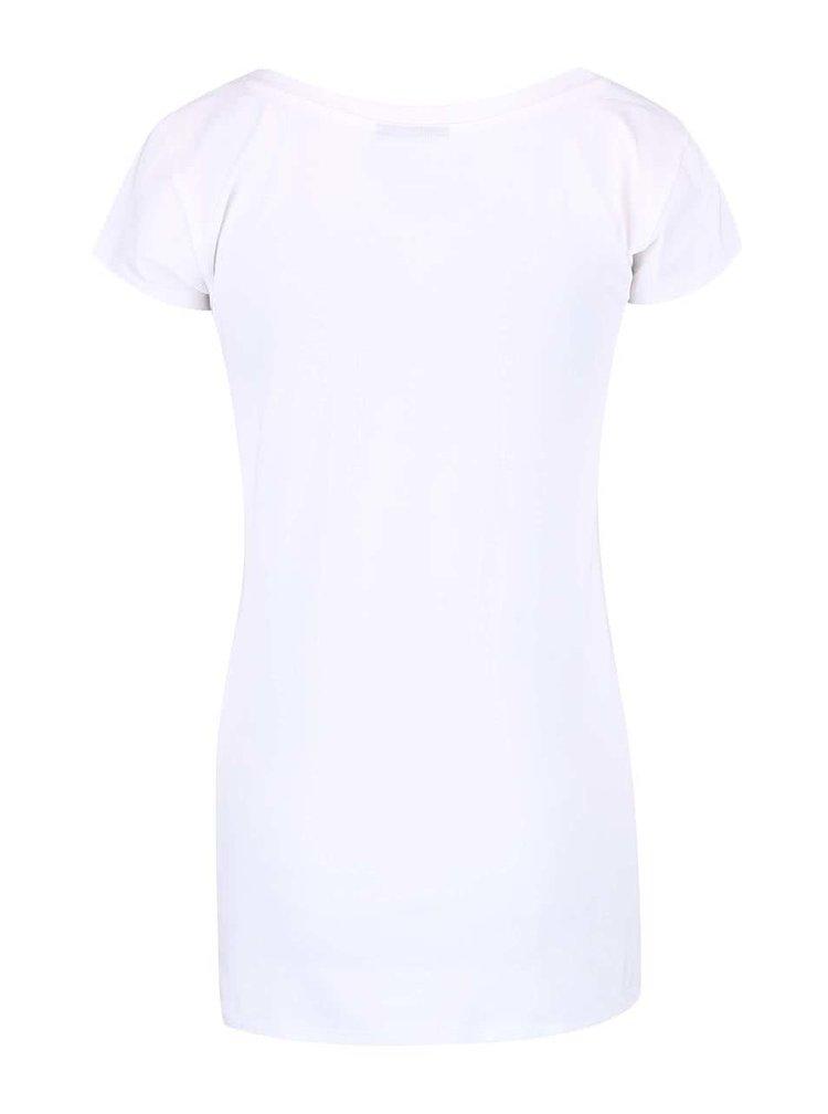 Biele dámske tričko s potlačou Funstorm Palagra