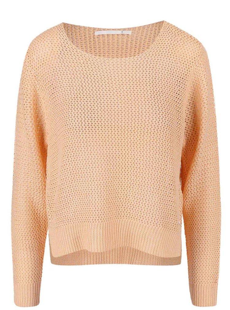 Marhuľový sveter ONLY Gappi
