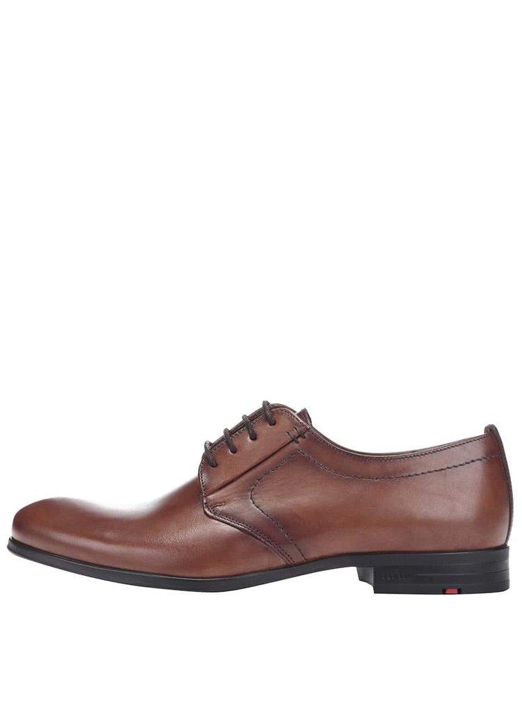 Pantofi Lloyd Dorian maro pentru barbati din piele