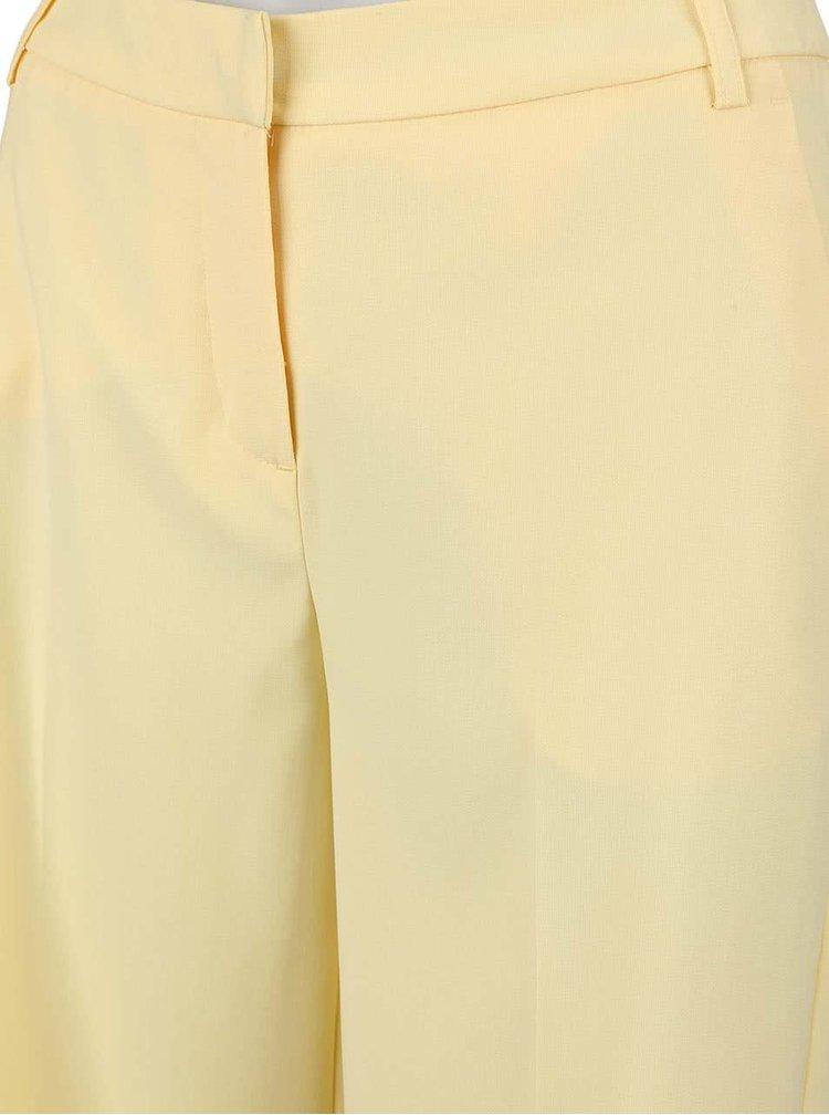 Světle žluté culottes VERO MODA Roro