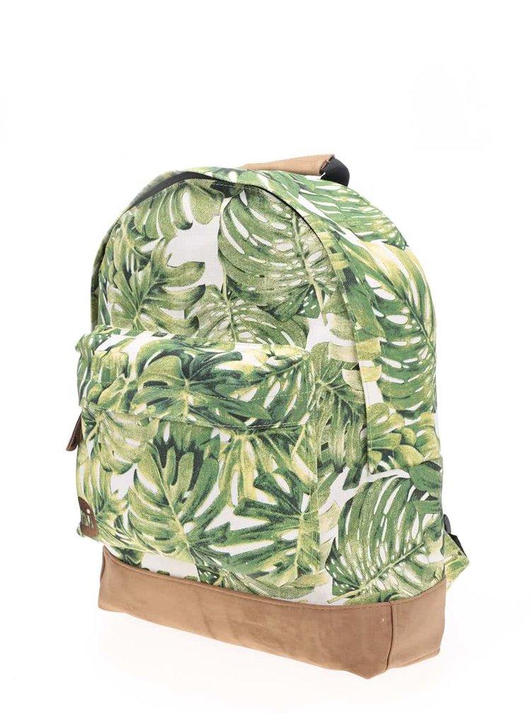 Zelený batoh s tropickým listím Mi-Pac Fern