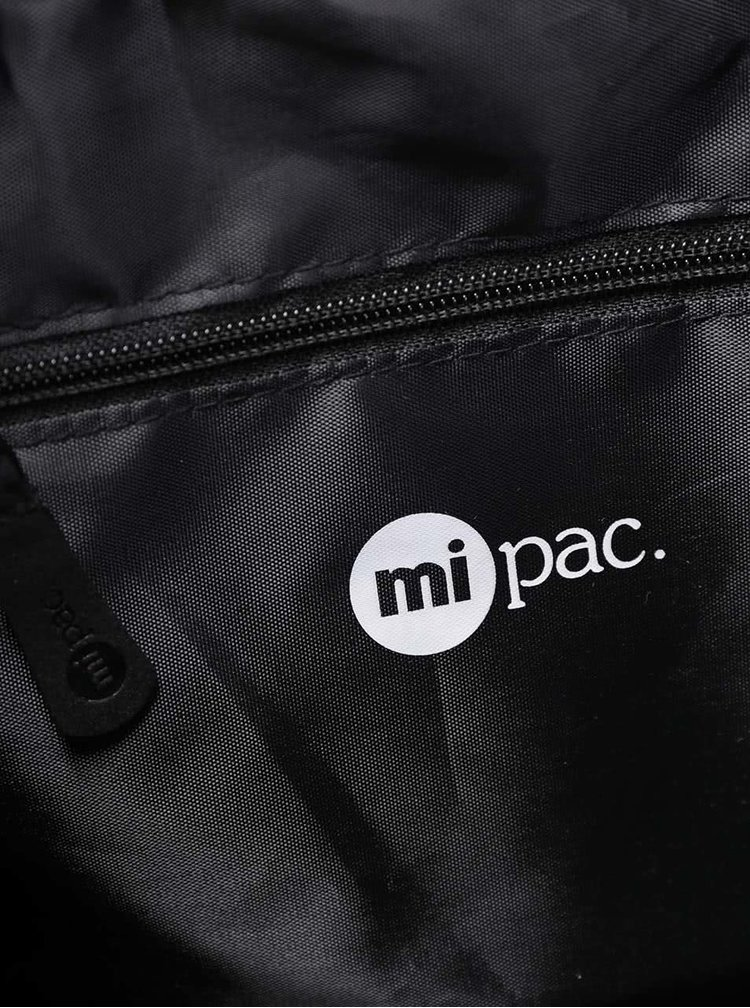 Černý vzorovaný vak Mi-Pac Kit Bag Splattered