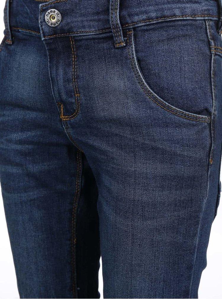 Tmavě modré klučičí slim džíny name it Ralf