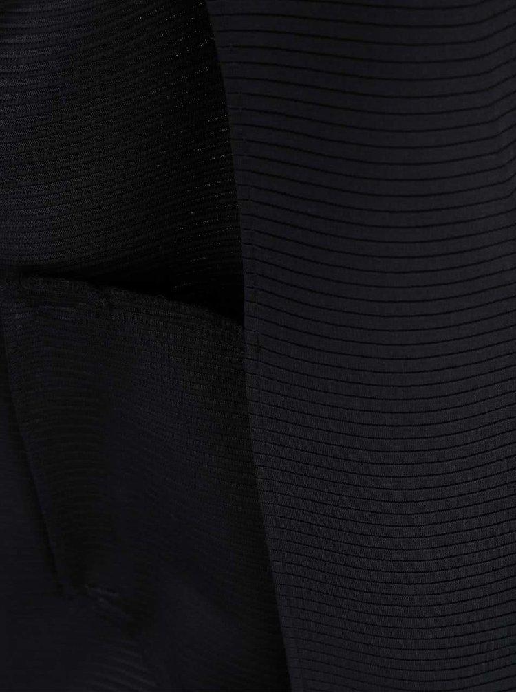 Čierny dlhší blejzer bez zapínania Dorothy Perkins