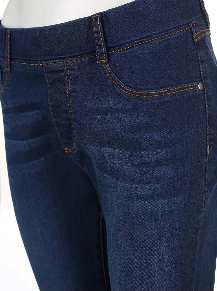 Modré skinny džíny Dorothy Perkins