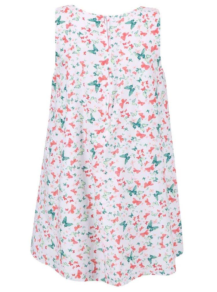 Farebné dievčenské šaty s motýlikmi name it Valaia