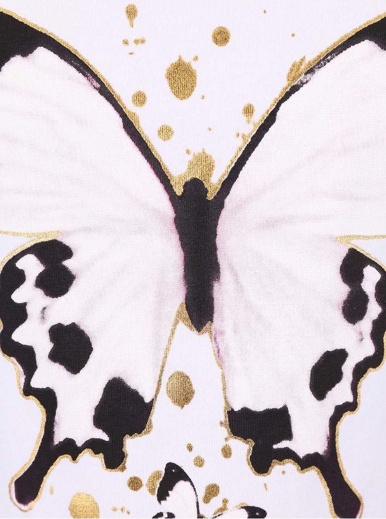 Biele dievčenské tričko name it Gunia