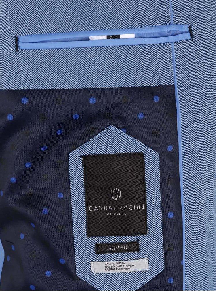 Světle modré sako Casual Friday by Blend