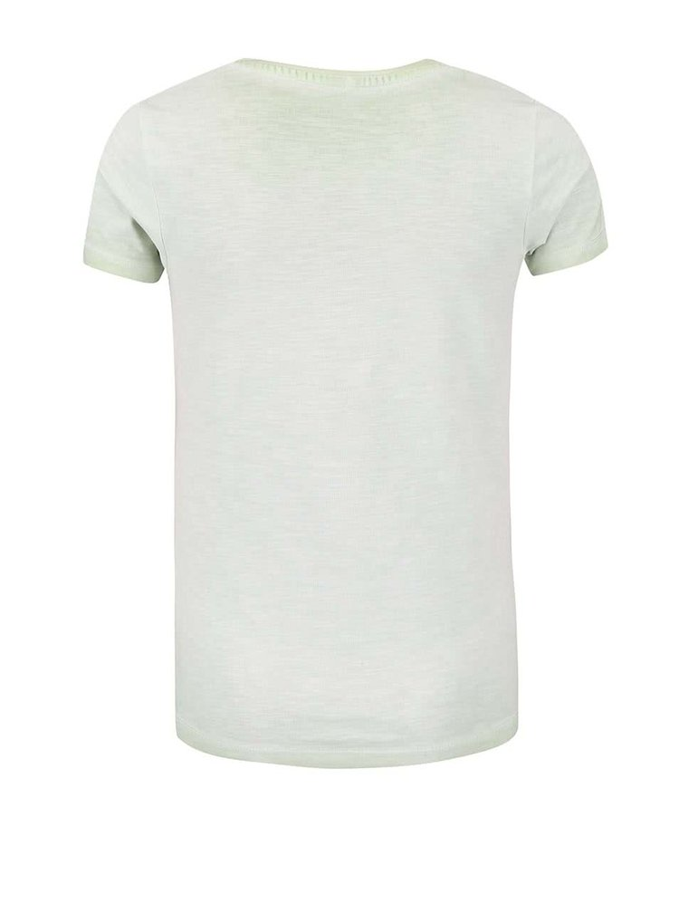 Tricou pentru fete name it alb