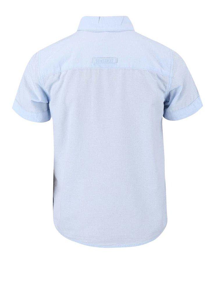 Modrá klučičí košile s krátkým rukávem name it Gerbert