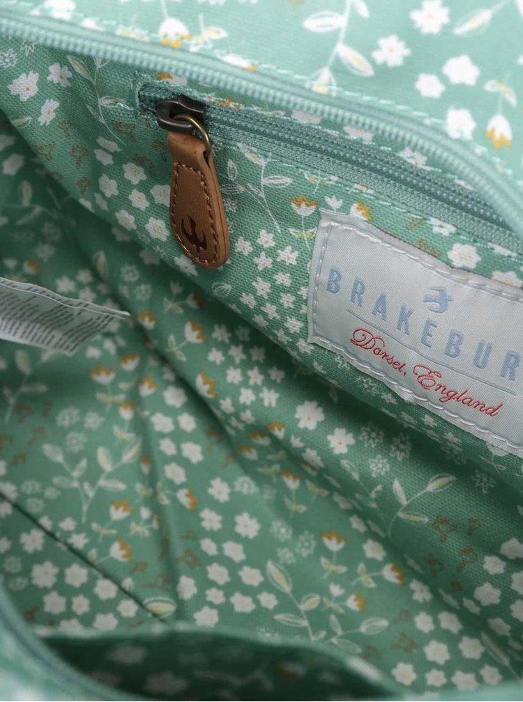 Geantă Brakeburn Floral verde