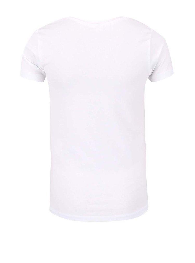 Tricou cu inimă name it Giffa crem