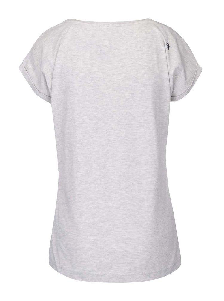 Sivé tričko s potlačou Brakeburn Boats