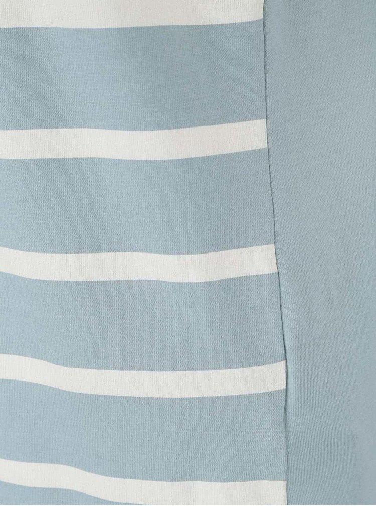 Zelenomodré pruhované tričko Brakeburn Stripe