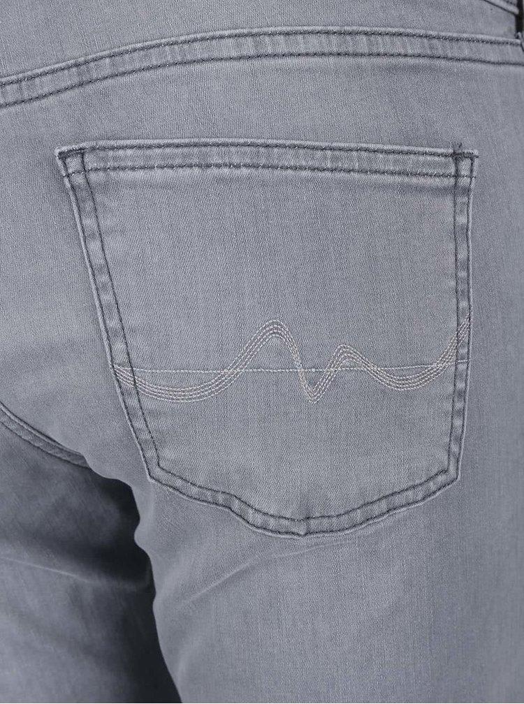 Blugi de damă slim fit Pepe Jeans Pixie gri