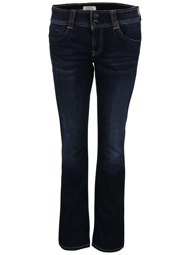Blugi Pepe Jeans Gen albastri inchis