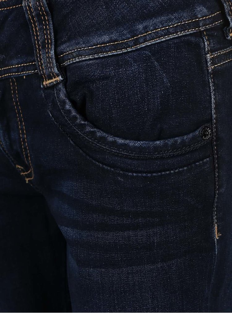 Blugi Pepe Jeans Gen albaștri închis