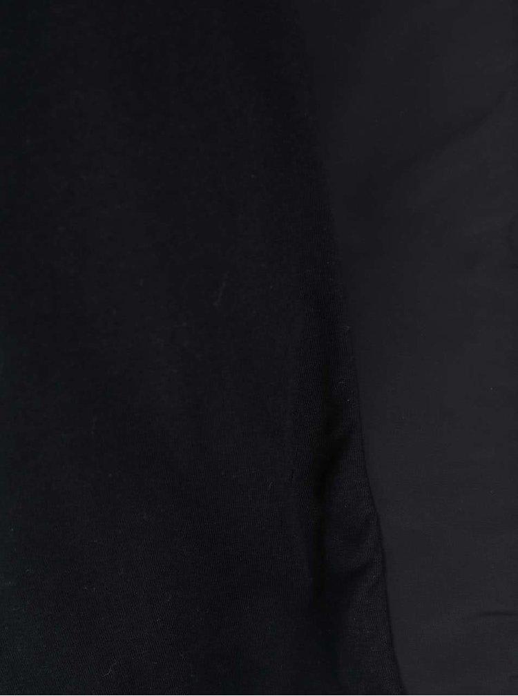 Jachetă bărbătească Pepe Jeans Casavetter neagră cu glugă