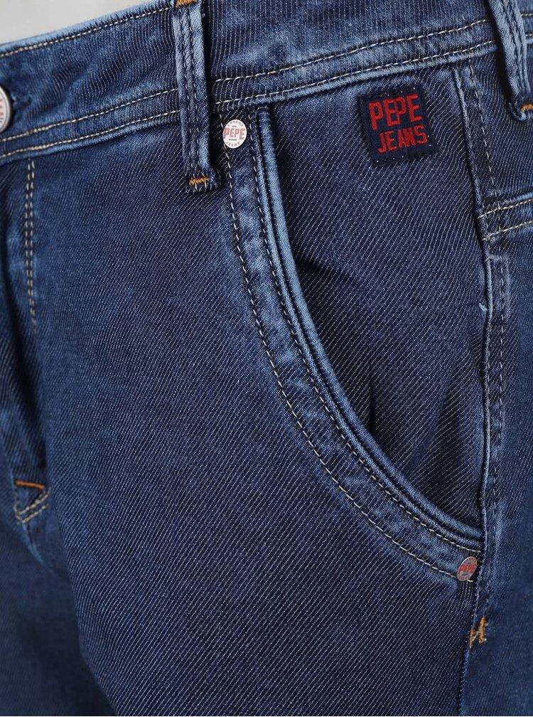 Modré dámske rifle Pepe Jeans Flow Low