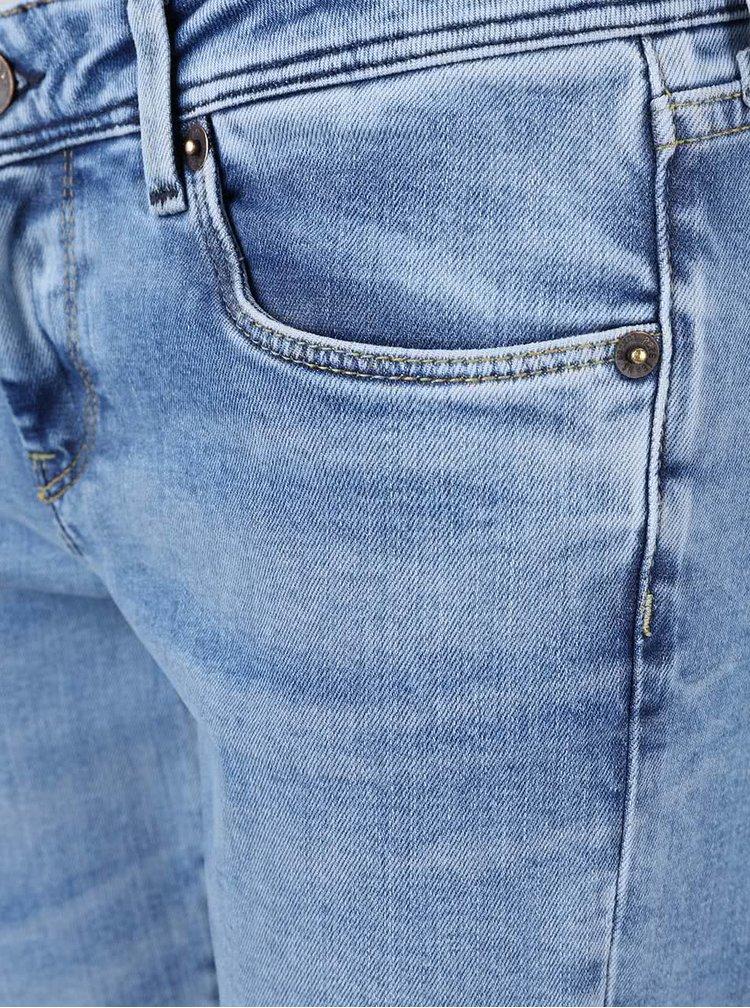 Svetlomodré dámske slim fit rifle Pepe Jeans Cher