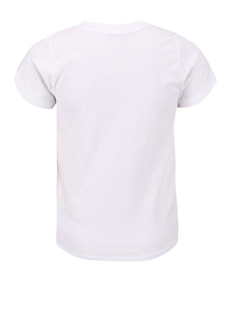 Bílé klučičí triko s potiskem name it Pads