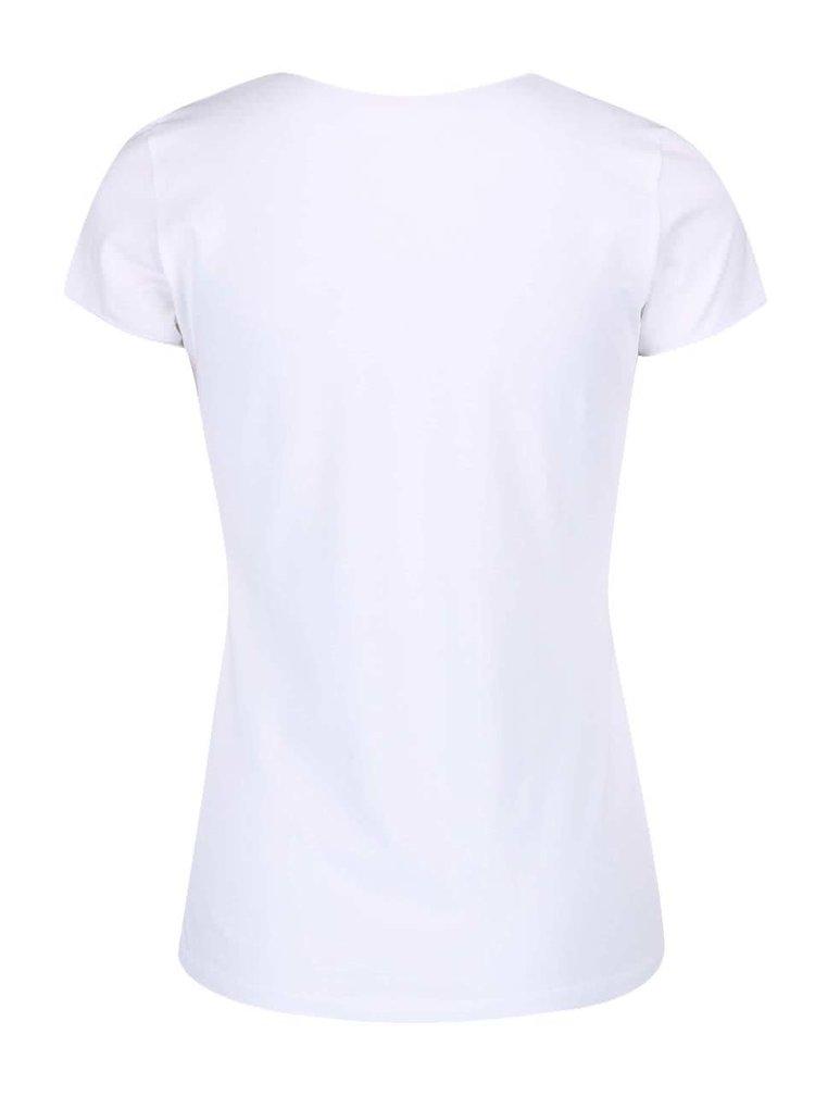 Biele tričko Pepe Jeans Valerie