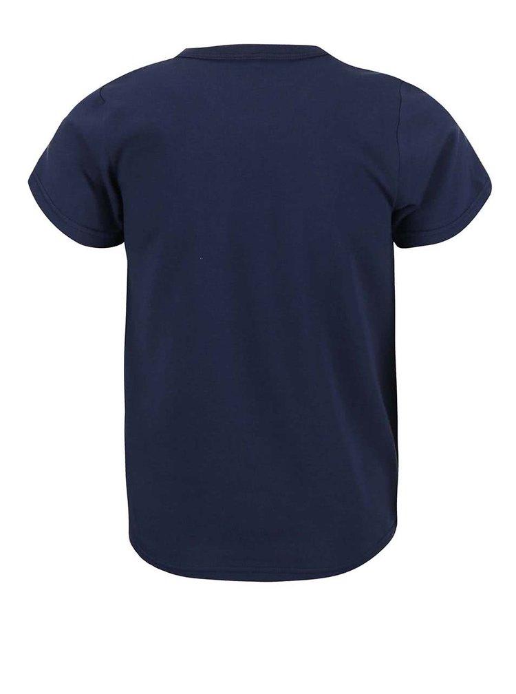 Tmavomodré chlapčenské tričko name it Vux
