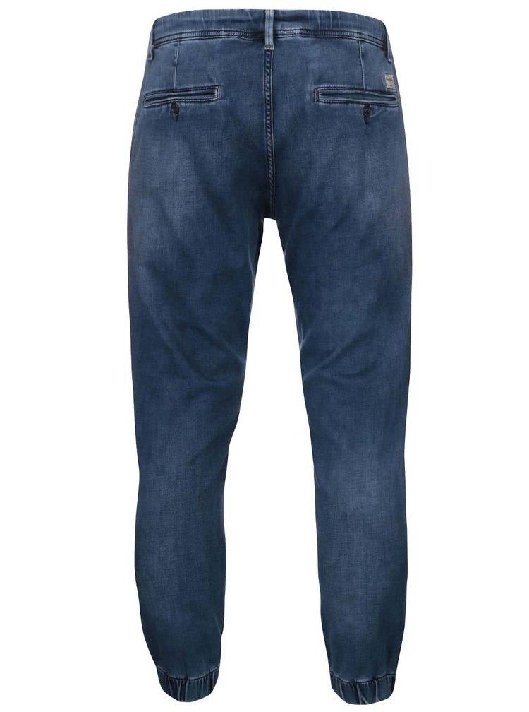 Blugi bărbătești cu elastic Pepe Jeans Slack albaștri închis