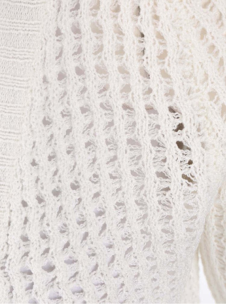 Krémový dlouhý cardigan Haily´s Elina