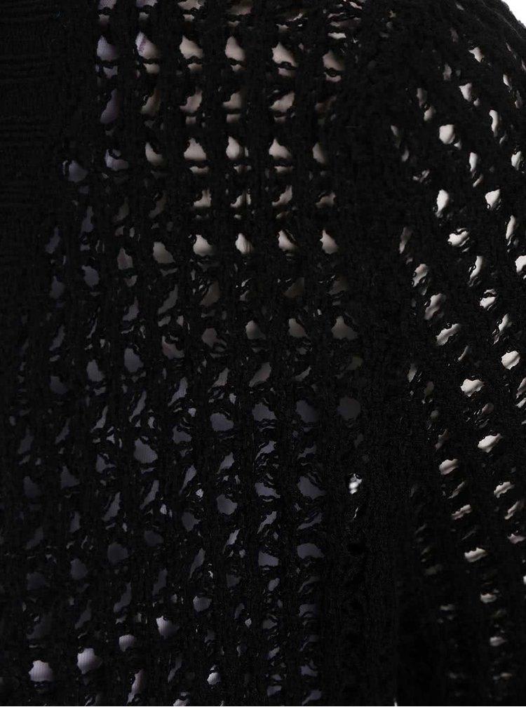 Černý dlouhý kardigan Haily´s Elina