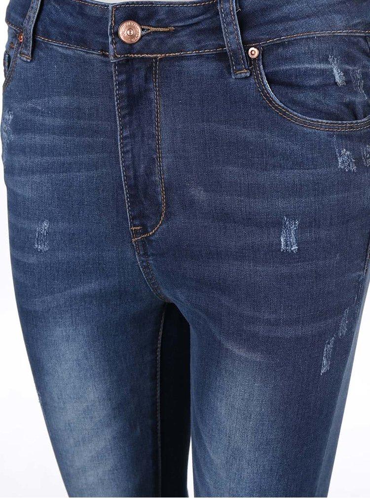 Modré džíny s vysokým pasem Haily´s Cara