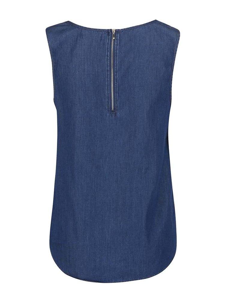 Modrý džínový top Haily´s Cassandra